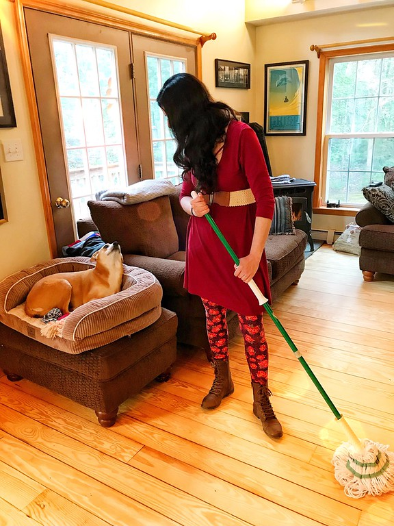 Spring cleaning is something we all have to do, so it's important to get the right gear for it! Here's what is number one in our spring cleaning toolkit, ESPECIALLY, in a house overrun with little feet and paws. #ad #TheLibmanCompany #EmbraceLifesMesses