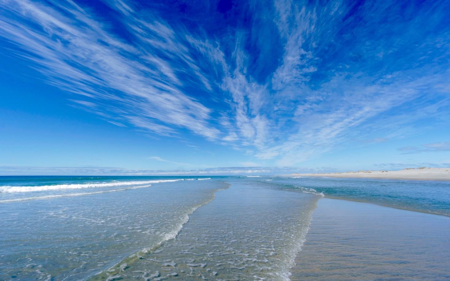 New Zealand, Farewell Spit