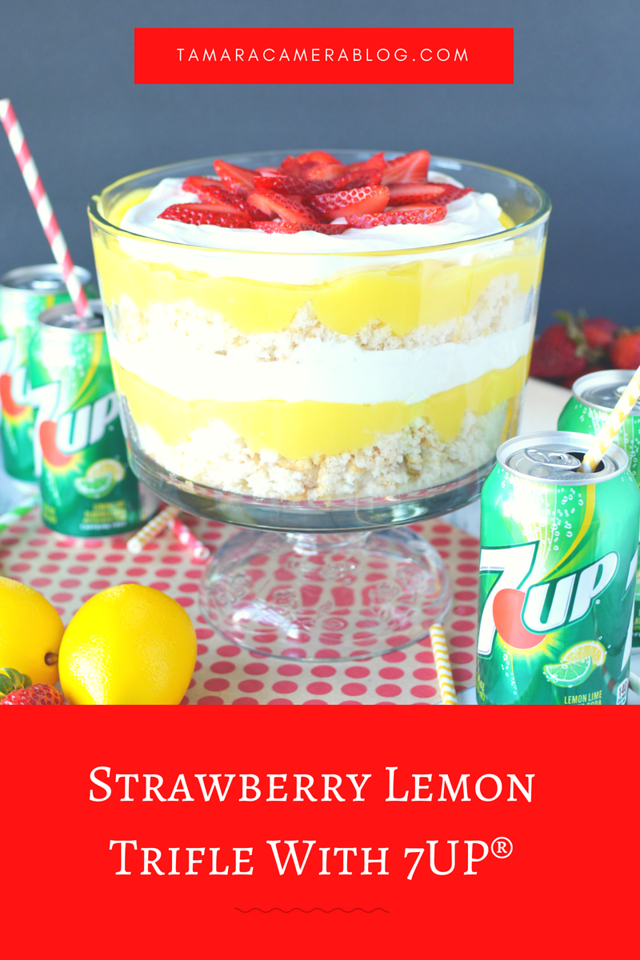 Looking to upgrade your summer? Walmart can help! We picked up 7UP to make this delicious Strawberry Lemon Trifle. It's the exact kind of unique and tasty summer #dessert #recipe to wow your guests and your family! #UpgradeYourSummer #IC #ad