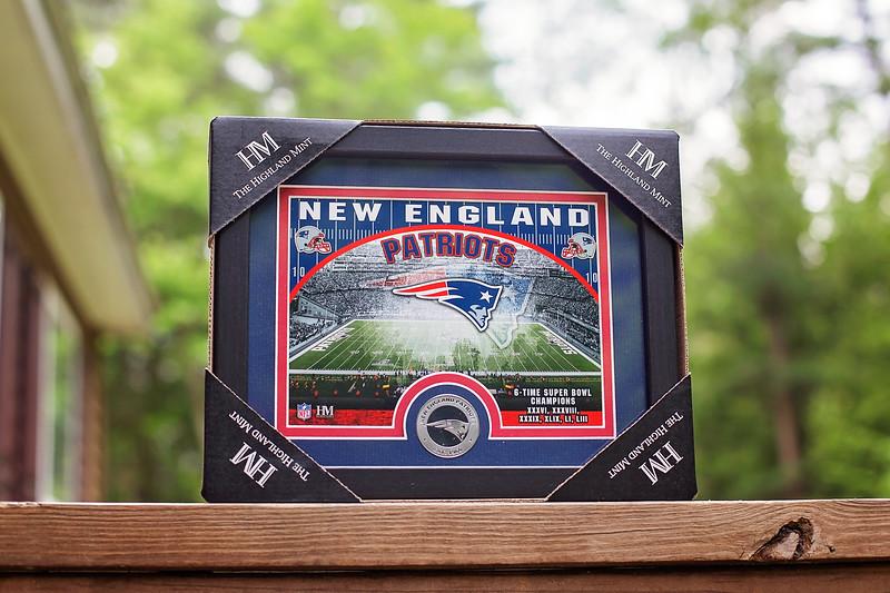 New England Patriots baseball hat