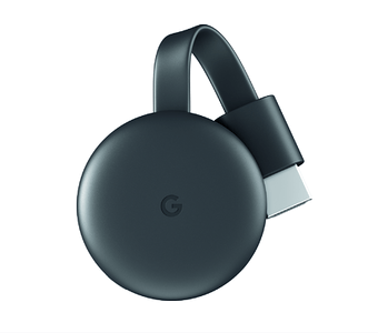Watch movies, shows, live TV, YouTube, and photos streaming on your TV from all of your family's devices with Google Chromecast Streaming Media Player. #ad