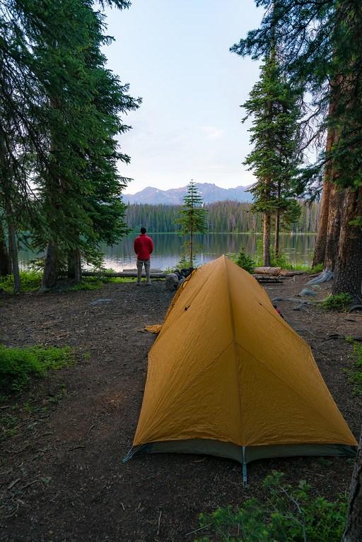 Lost Lake Gore Range Vail Colorado