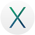 OS X 10.9 logo, courtesy Apple Inc.
