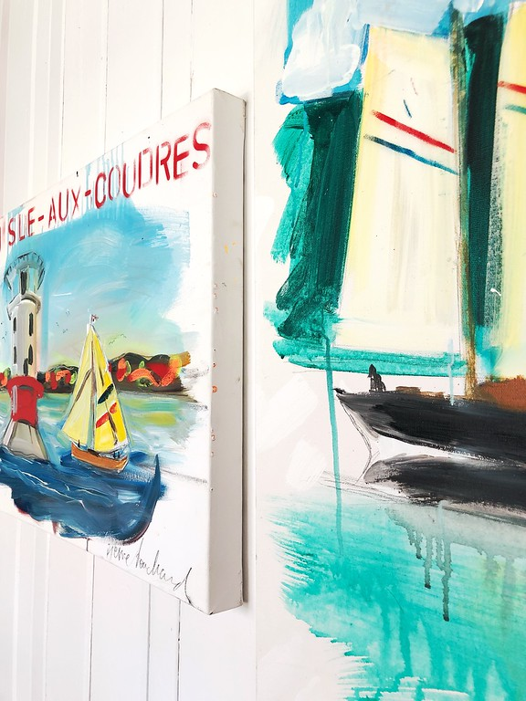 You totally need to visit this charming café-boutique-gallery on L'Isle-aux-Coudres!
