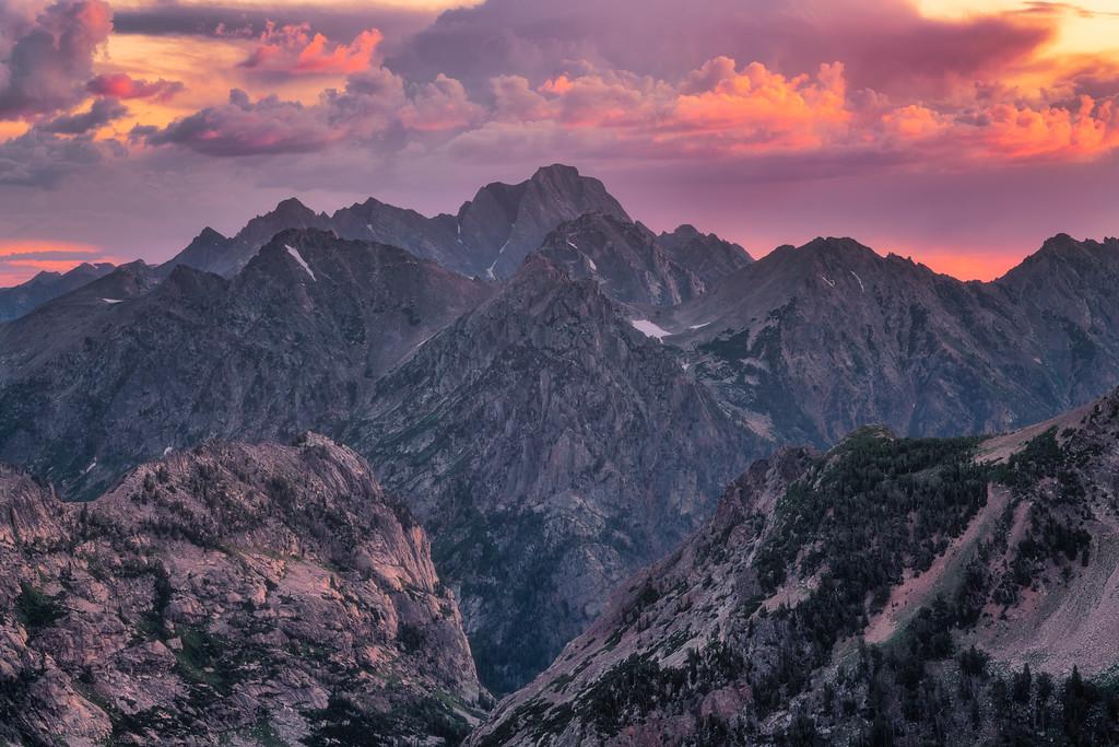 Mt Moran Grand Teton National Park Wyoming