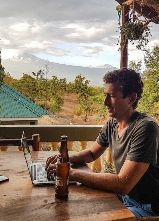 Traveled the world - working in Tanzania