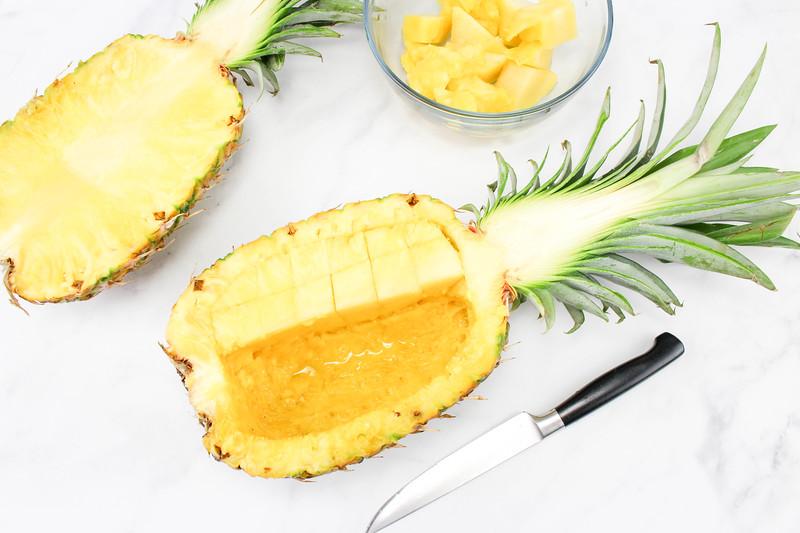 Pineapple Salsa Step 1