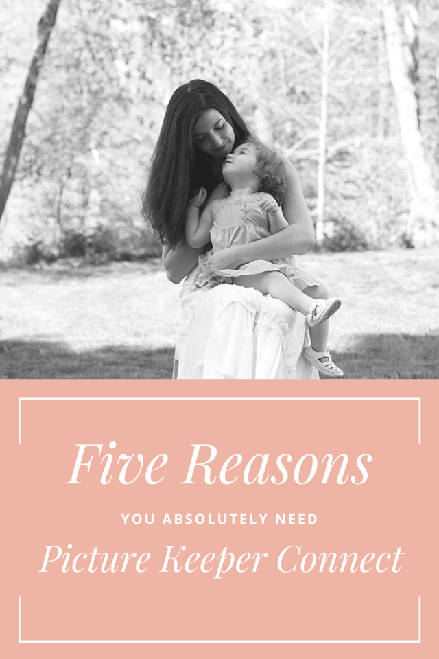 Here are five reasons why you ABSOLUTELY need Picture Keeper Connect! The perfect gift for loved ones or yourself! Enter the #giveaway for #MothersDay! #ad