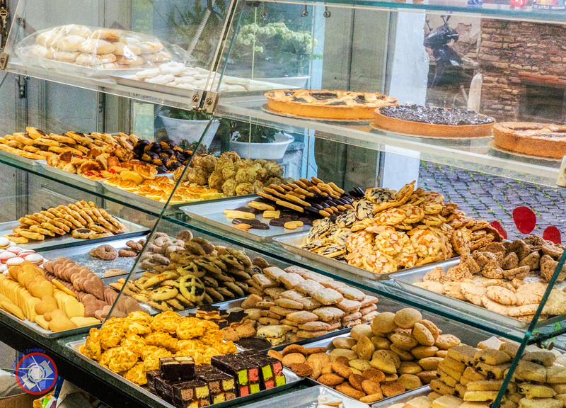 The Assortment of Delectable Cookies Found at Biscottificio Innocenti (©simon@myeclecticimages.com)