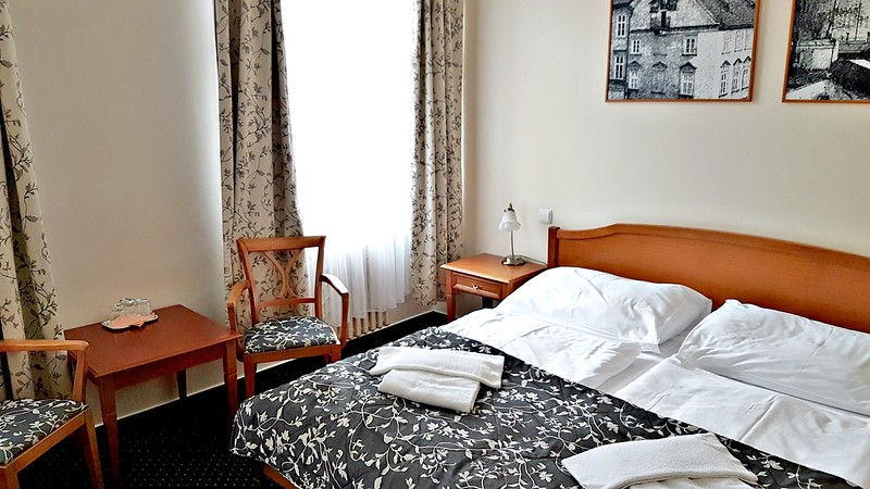 Small Hotels in Prague - double room