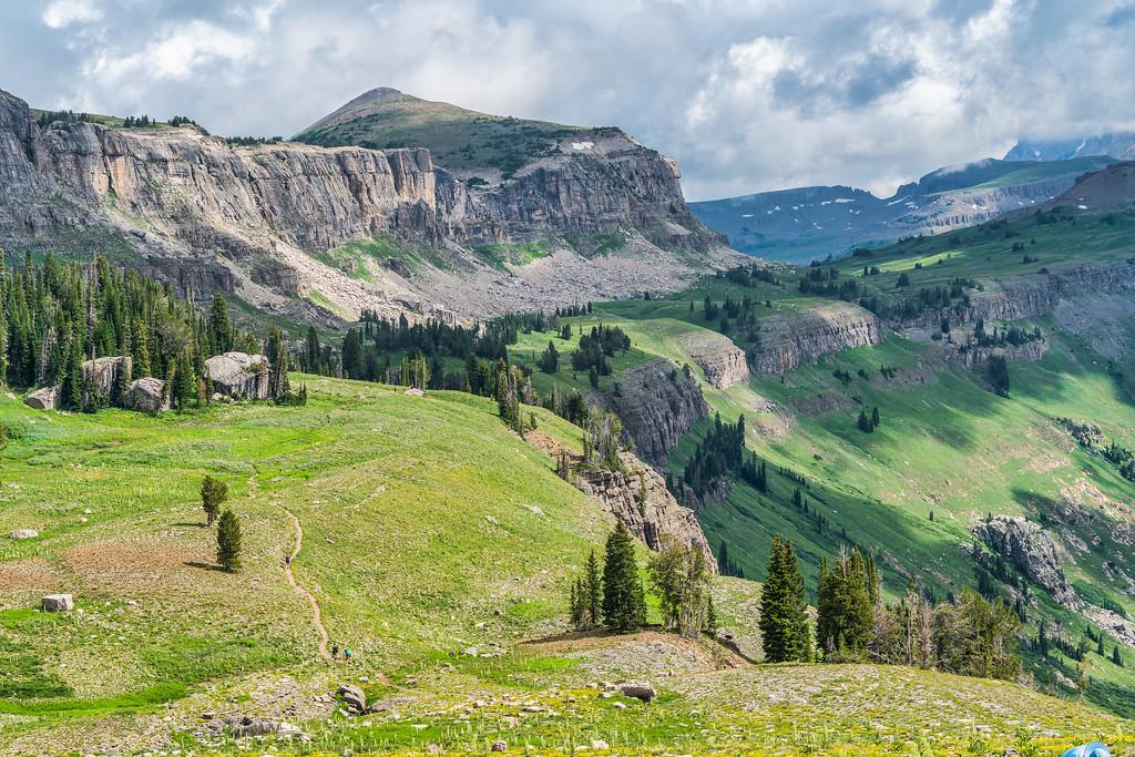 Teton Crest Trail Grand Teton National Park Wyoming Death Canyon
