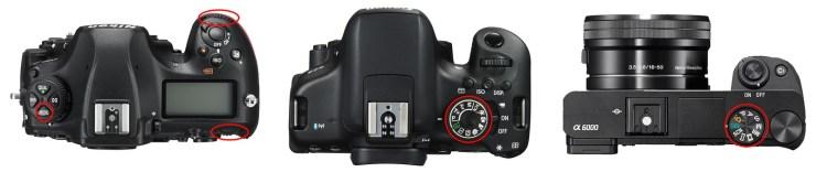 Nikon D850 (pro/semi-pro) / Canon 750D (amateur) / Sony a6000 (amateur/semi-pro)