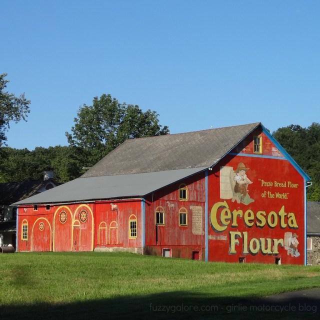 Ceresota Flour Barn Lehigh County Pennsylvania