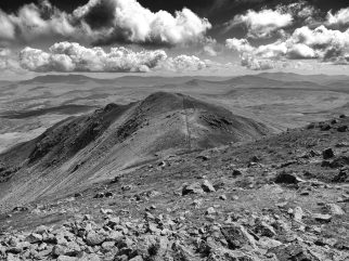 the lower southern peak of Arenig Fawr