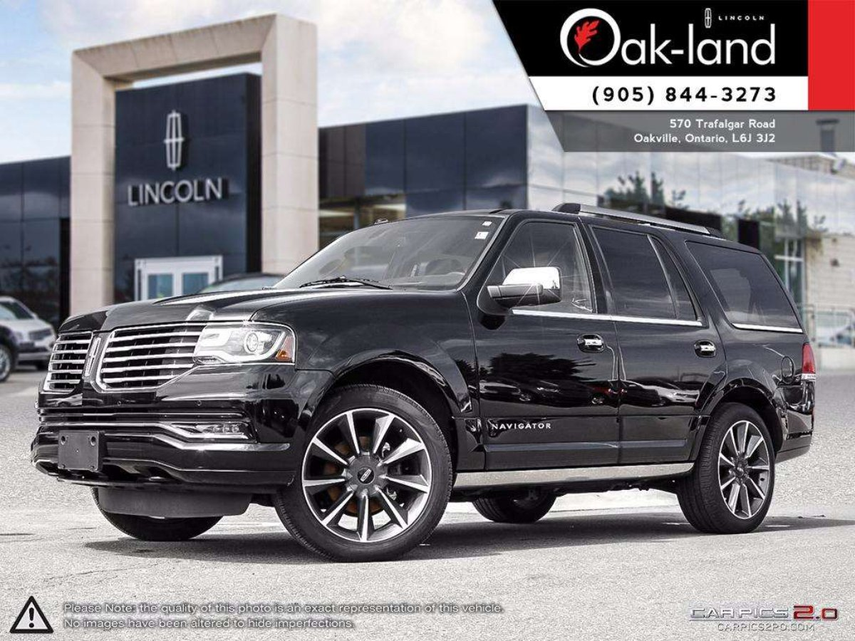 2016 Lincoln Navigator for sale in Oakville, Ontario