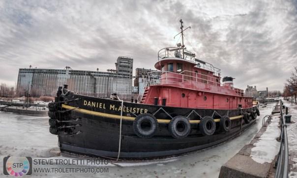 Daniel McAllister Tugboat - Old Port of Montreal