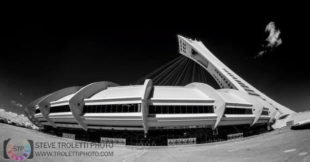 Stade olympique de Montréal - Olympic Stadium - IR