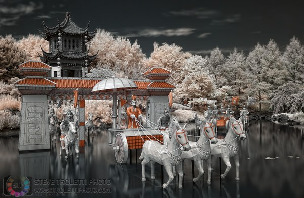 Steve Troletti Photography: PICTURE OF THE DAY / PHOTO DU JOUR &emdash; The First Emperor's Procession IR - The Magic of Lanterns 2011