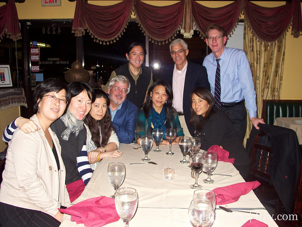 Dinner at Shiraz with EAST Staff