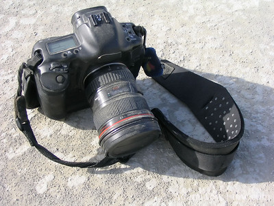 My 1D Mark II at Burning Man