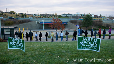 Thornton Park-N-Ride and Jared Polis