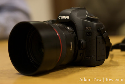 Canon EOS 5D Mark II at COBA