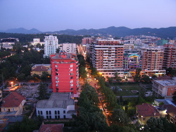 Image of the block in tirana