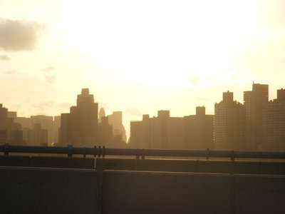 Manhattan from the Triborough bridge