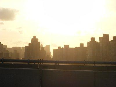 Manhattan from the Triborough bridge