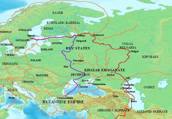 Varangian Trade Route S