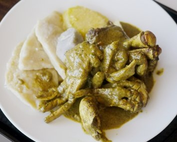 Curry Crab and Dumplings, Trinidad, Food