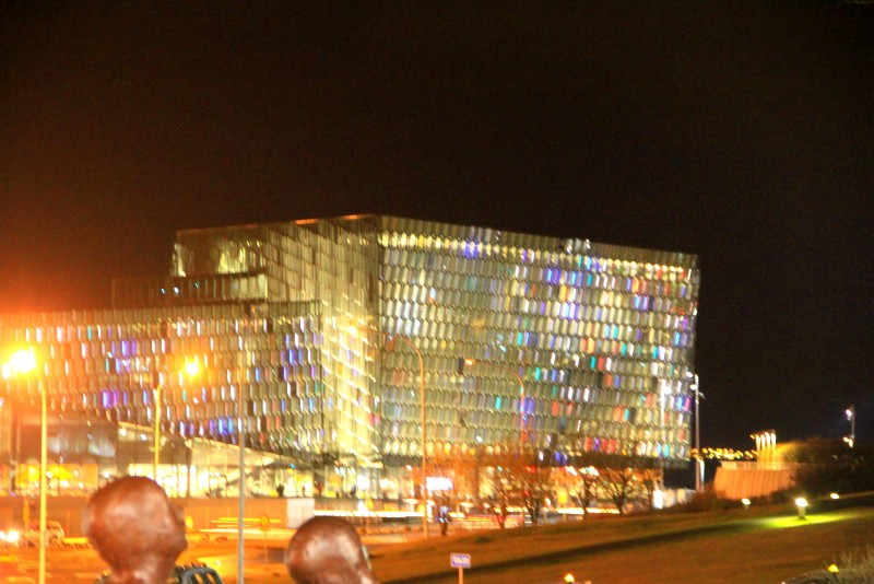 The Harpa Conference & Concert Hall (Night)