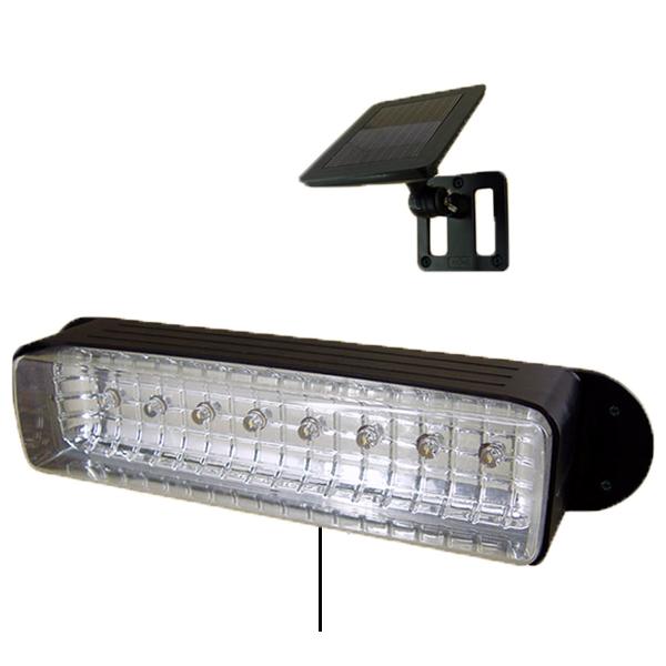 Solar Deck Wall Lights