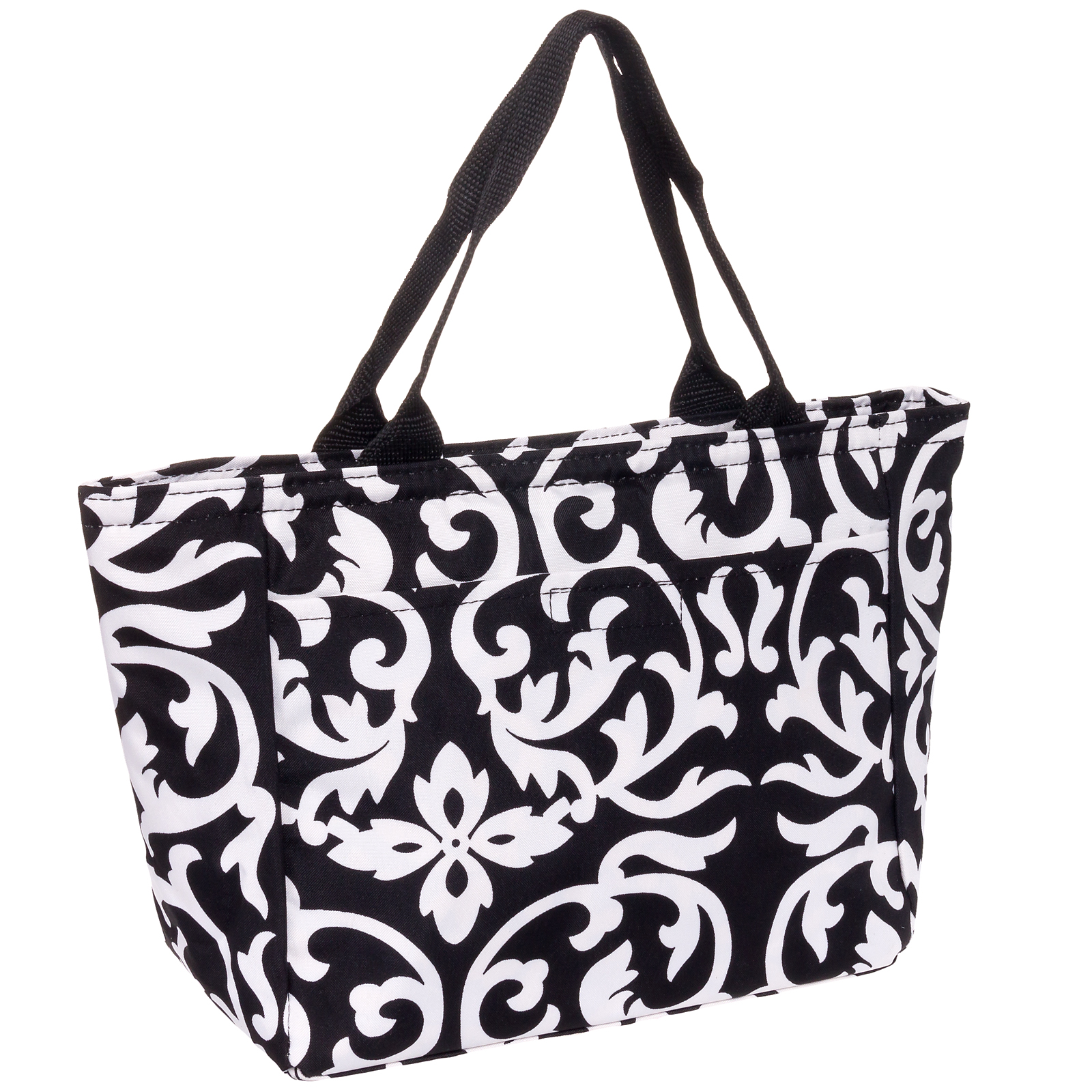 Silverhooks New Womens Insulated Lunch Tote Pail Bag Box