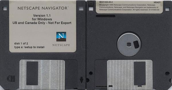 Netscape Floppy Discs