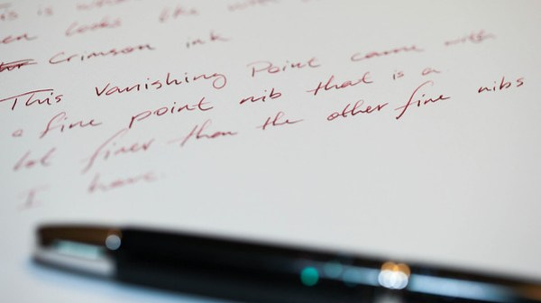 Review: Namiki Vanishing Point Pen | Vec com