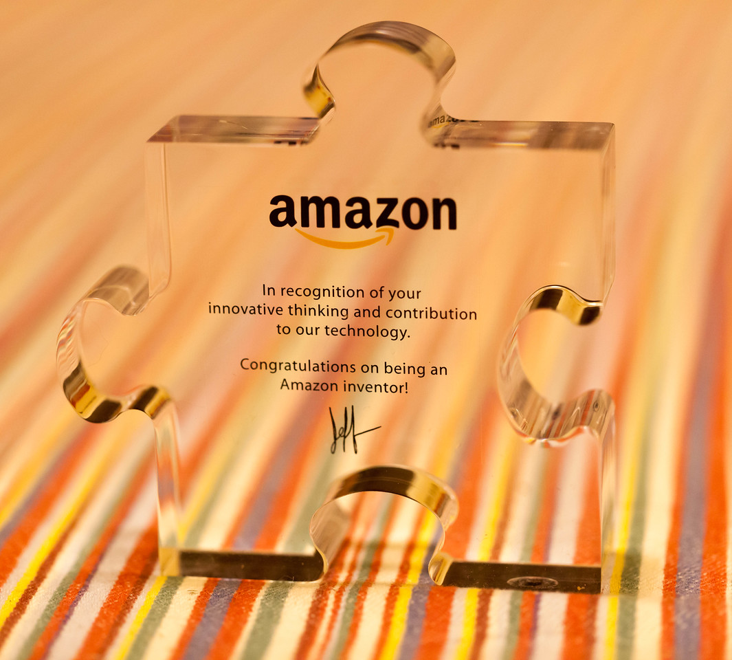 Amazon Inventor Puzzle Piece