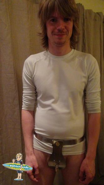 Gordon : Deluxe Male Stainless Steel Chastity Belt