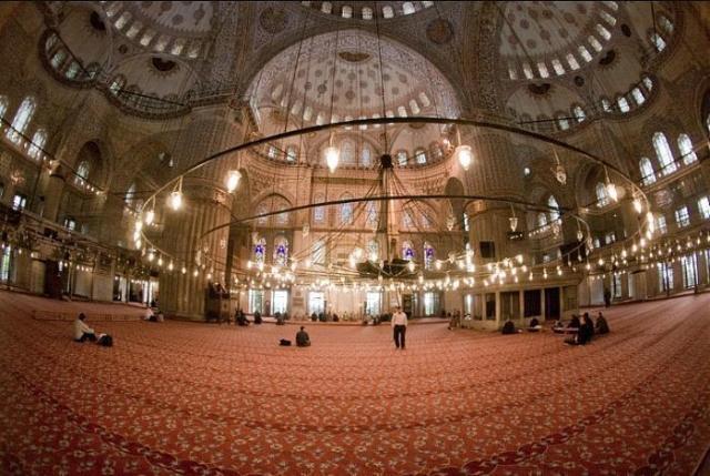 "Султан Ахмед"" джамия / Синята джамия - Истанбул (вилает ..."