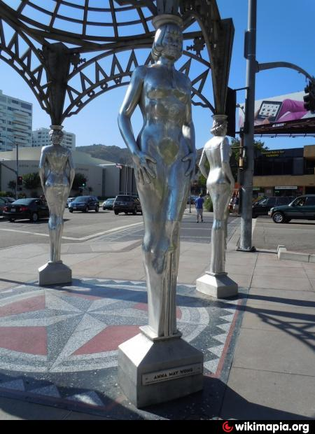 The Silver Four Ladies Of Hollywood Gazebo Los Angeles