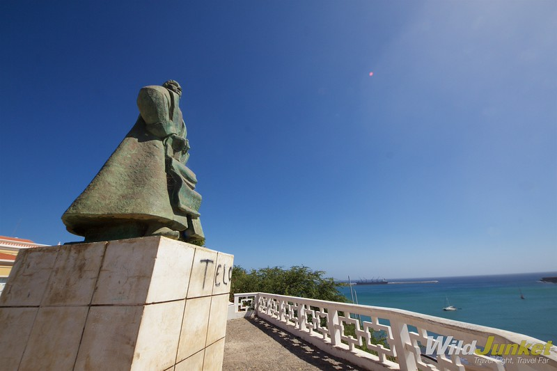 best things to do in Cape Verde- Statue of Diogo Gomes