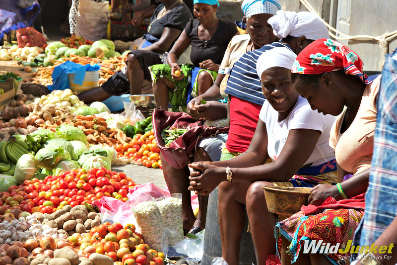 best things to do in Cape Verde - Bustling market in Assomada