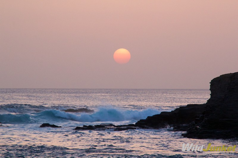 best things to do in Cape Verde - Sunset at Tarrafal