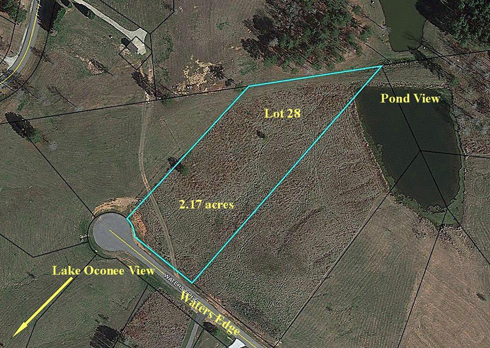 Property for sale at Lot 28 WATERS EDGE, White Plains,  Georgia 30678