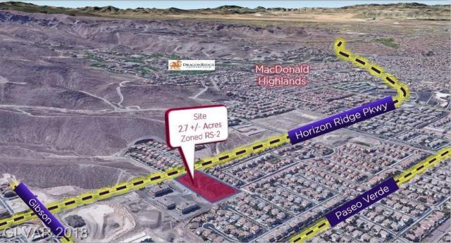 Property for sale at 0 Horizon Ridge Parkway, Henderson,  Nevada 89012