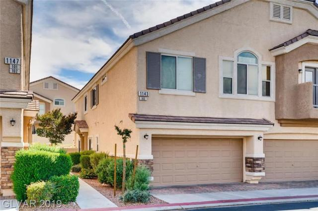 Property for sale at 1143 Harts Bluff Place Unit: 103, Henderson,  Nevada 89002