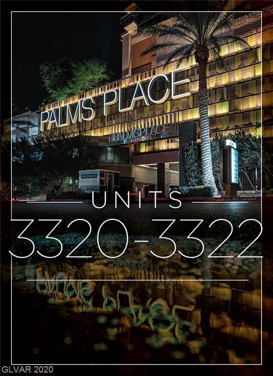 Property for sale at 4381 Flamingo Road Unit: 3322/3320, Las Vegas,  Nevada 89103