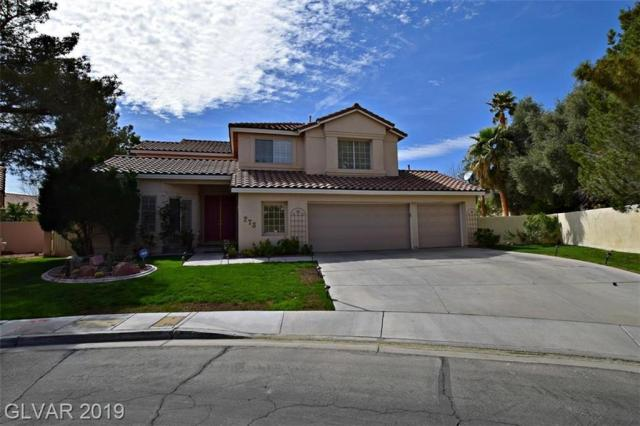 Property for sale at 273 La Cuenta Circle, Las Vegas,  Nevada 89074