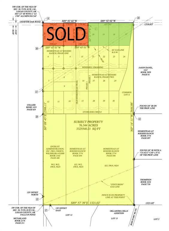 Property for sale at S Westminster & Charter Oaks Road, Guthrie,  Oklahoma 73044