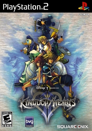 KINGDOM HEARTS II - Playstation 2 (PS2) iso download   WoWroms.com